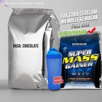 Dymatize Super Mass Gainer 6 lbs eceran SuperMass cocok pemula shaker