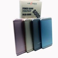 Advance Power Bank 6000 mAH Slim