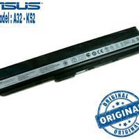 Original Baterai/Battery/Batre Laptop Asus A42, A42J, A42F, K52, A52, A52F, K42DR K42J K42JA K42JB K42JC K42JE K42JK A42DY Serie