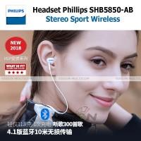 Headset Bluetooth | Philips SHB5850B | In-Ear Sound | OEM