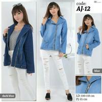 AJ-12 Jaket Jeans Jumbo