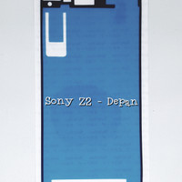 Lem Adhesive LCD Touchscreen Sony Xperia Z2 - Double Tape Z 2 Depan