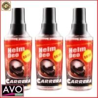 Parfum + Disinfektan Helm - Deo Carrera Original (60 ml)
