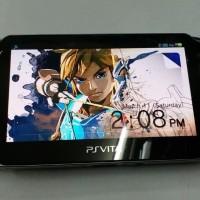 PS Vita AMOLED 32GB Wifi CFW Enso Henkaku (Bisa PSP PS1 SNES Dll)