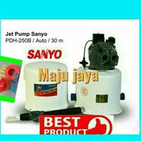 """pompa air sumur dalam 30 meter jetpump  SANYO """" PD-H250B 250 watt"""