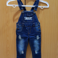 Jumpsuit denim SMART/ Baju Monyet Anak anak Kids