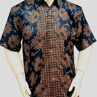 Kemeja batik solo tgn pdk modern premium