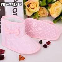 Sepatu Boot Prewalker Bayi/Anak Pita Cantik Lucu Harga Murah