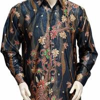 Kemeja batik solo modern premium