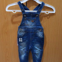 Jumpsuit Denim/Baju Monyet Baby Kids