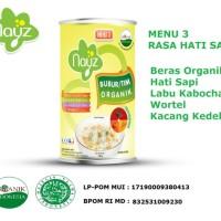 Nayz Kaleng Bubur Organik Hati Sapi menu 3