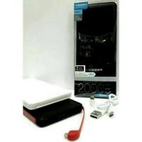 TERLARIS Powerbank Power Bank VEGER V80 20000mAh 20000 mAh Original