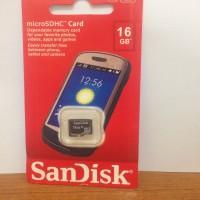 Memory Sandisk 16gb