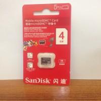 Memory Sandisk 4gb