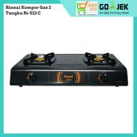 Rinnai Kompor Gas 2 Tungku Ri-522 C