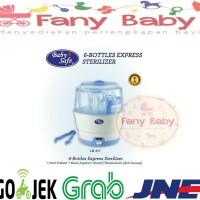 Baby Safe Express Steam Sterilizer 6 Botol / Alat Steril Botol Susu