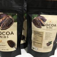 Cocoa Nibs - Organic super food - 120gr