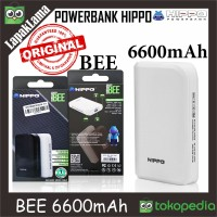 PowerBank Power Bank HIPPO BEE 6600mAh Original 100owerbank Istimewa
