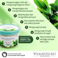 TERMURAH !!! Lulur Wajah Nature Organic Green Tea - BEST SELLER