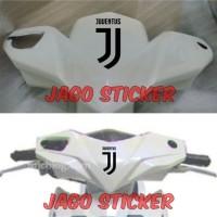 Stiker Bola Logo New Juventus Sticker Body Motor Lambang Juve Baru