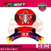 decal helm universal vr46 mm93