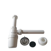 Sifon pembuangan air wastafel botol Brachio PVC.