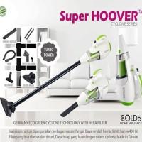 Bolde SUPER HOOVER Cyclone Hand Vacuum Cleaners 2 in 1 / Penyedot Debu