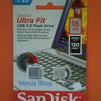 SANDISK FLASHDISK 16GB ULTRA FIT CZ43 USB 3 0 ULTRA FIT 16 GB CZ 43
