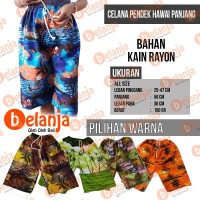 Celana Pendek Hawaii Panjang Oleh Oleh Khas Bali