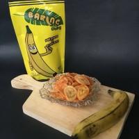 Baring Chips Cheese 140gr, keripik pisang Sukabumi
