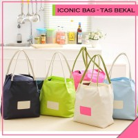 Tas Bekal Wisata Travel Iconic Insulated Lunch Bag Cooler-GN37