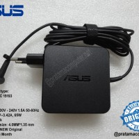 Original Charger Adapter Laptop ASUS 19V 65W DC:4.0MM*1.35MM