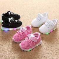 Sepatu Bayi Baby shoes Prewalker Laki-laki Perempuan LED Sneaker
