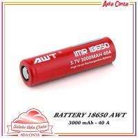 baterai vape AWT red IMR 18650 3000mah