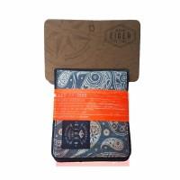 Dompet Eiger 910003243 001 Blue Seaside Wallet  - Dompet Pria Slim