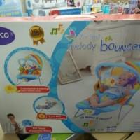 Baby Bouncer Pliko Musical Melodies / Mainan / Bouncer Bayi
