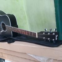 (Gojek Only) Gitar Acoustic Elektrik Custom MurMer Berkualitas