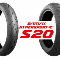 Ban Bridgestone Battlax 150/60-17 S20 Hypersport Tubeless Motor Rear