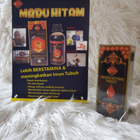Ozora Madu Hitam Pahit Bima 400 gram - Original Herbal Diabetes