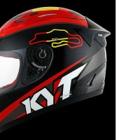 HELM FULLFACE ORIGINAL KYT MOTIF RC SEVEN SPAIN BLACK