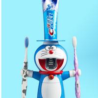 Tempat sikat pasta gigi dan odol & cup karakter anak kartun DORAEMON