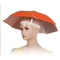 Payung Topi diameter 60 cm 10 WARNA kepala Besar Outdoor Anti UV