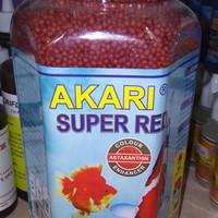 Makanan Ikan Koki Koi Akari Super Red Toples