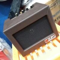 Ampli Mini Gitar Bass Merk Raf 4 Inch Brown Murah Jakarta Amply