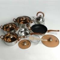 Panci Set Oxone ox-933 Eco Cookware