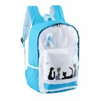 GFEGAX Tas Sekolah Backpack Anak Perempuan/Cewek Remaja, Catty Girl