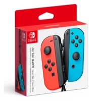 Nintendo Switch Joy Con Neon Red Blue