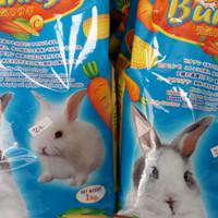 makanan kelinci merek briter bunny