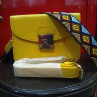 zara mini bag yellow