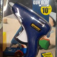 Krisbow Glue Gun Kecil / Alat Lem Tembak 10 Watt - Biru